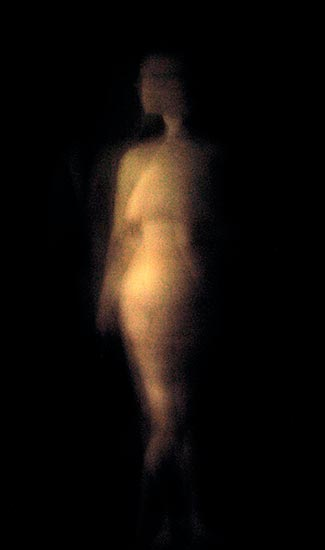 Nude, digital photo 2002 by Ty Bowman